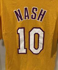 LAKERS VTG Steve Nash #10 Los Angeles Lakers T-Shirt Size XL EUC