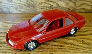 AMT 1988 Chevrolet Beretta GT   1:25 Scale Promo Model: Bright Red