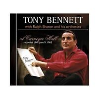 TONY WITH RALPH SHARON AND HIS ORCHESTRA BENNETT - AT CARNEGIE HALL CD POP NEU