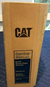 CATERPILLAR D10T TYPE TRACTOR SERVICE MANUAL VOL 2 RJG1-UP