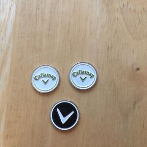 3 piece Callaway Golf Ball Marks