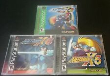Mega Man X4 X5 X6 NEW ! Bundle  2 Black Label , PS1 Playstation 1 FACTORY SEALED