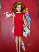 Vintage 1963 Tressy Red Case Doll, Clothing, GroHair Key, Sugar & Spice outfits