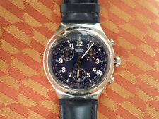 Swatch Irony Secret Agent Chrono Armbanduhr YCS401