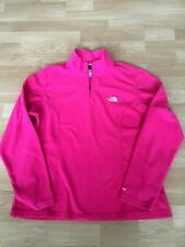 THE NORTH FACE, Women hoody, size XL/TG, Color pink, fleece.