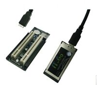 Laptop PC Expansion Cards with case enclosure 34/&54 To 2 32bit PCI slots adapter