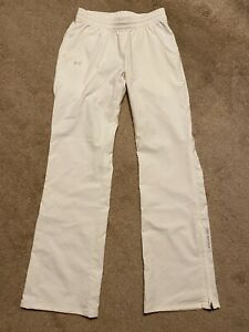 UNDER ARMOUR Golf Pants Womens XS White All Season Gear Stretch