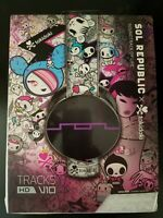 BRAND NEW SEALED! SOL REPUBLIC TOKIDOKI Tracks HD V10 On-Ear Headphones TKDK