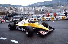 Alain Prost Renault RE40 Monaco Grand Prix 1983 Photograph 1