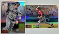 2020 Stadium Club Chrome ZAC GALLEN #262 RC / JOSH ROJAS #213 RC REFRACTOR lot