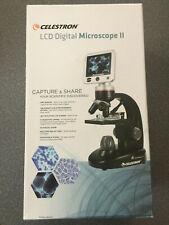 Celestron LCD Digital Microscope II -Biological Microscope - 5MP Digital Camera