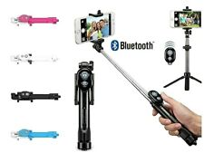 Tripod Stand Selfie Stick With Wireless Bluetooth Remote Shutter Fit iOS Android