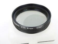 Leica E55 P-cir Pol Filter, E55, 13357 Glas nicht ok Glas not ok