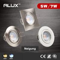 6er 5W 7W LED Einbaurahmen GU10 Schwenkbar Einbaustrahler Einbauleuchte Rahme