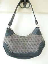 Dooney & Bourke Signature Logo Brown Pebbled Leather Shoulder Bag