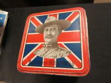 Boar War Era Generals & Baden-Powell Best Tea Tin 1900's, Metal