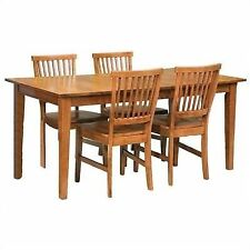 Home Styles Arts U0026 Crafts Cottage Oak 5pc Dining Table And Chair Set