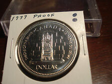 1977 - Canada Silver Dollar - Brilliant Uncirculated - Canadian $1 coin
