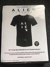 Alien Covenant Walmart Exclusive T-Shirt 2017 Alien Day Ultimate Fan Art XL