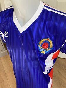 Yugoslavia Football Shirt 1990 Medium/Large Classic Soccer Jersey