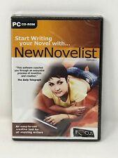 NewNovelist PC CD-ROM Creative Software Tool for Aspiring Writers Novelist (NEW)