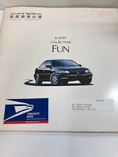 1997 Cadillac Catera Promotional Broucher See Pictures