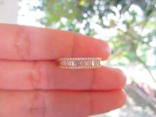 .89 Carat Diamond Yellow Gold Half Eternity Ring 18k codeHE19 sepvergara