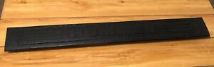 HUMMER H3 06 07 08 09 10 REAR DOOR TRUNK CARGO SILL SCUFF PLATE TRIM BLACK OEM