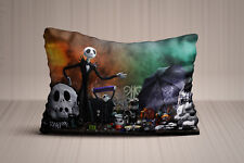 New Jack Skellington The Nightmare Before Christmas Pillow Case 20x30 Twin Side