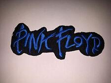 PUNK ROCK METAL MUSIC SEW ON / IRON ON PATCH:- PINK FLOYD (a) BLUE STRIPE