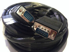 30m High Quality VGA Cable 15 pin for PC Laptop TV LCD Screen Male to Male