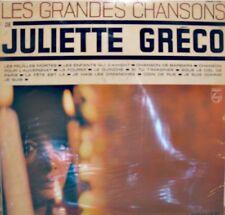 JULIETTE GRECO les feuilles mortes/chanson de barbara/le guinche LP PHILIPS VG++