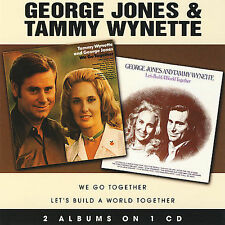We Go Together/Let's Build a World Together by George Jones & Tammy Wynette CD