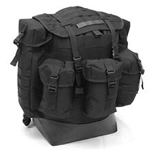 MILITARY Alice Pack Modern Day Black Navy Seal Swat USMC 900 Denier XL New