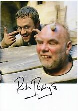 RICH RIDINGS - Signed 12x8 Photograph - TV & FILM