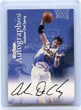 1999-00 SKYBOX AUTOGRAPHICS (NO#) ANDREW DECLERCQ AUTOGRAPH, CAVALIERS, 010114