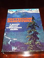 Vintage Game, Outdoor Survival, Avalon Hill/Stackpole Books, 1972