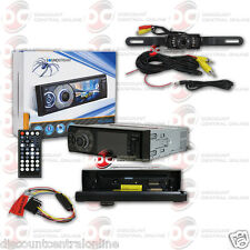 "SOUNDSTREAM VR-345B 1-DIN 3.4"" LCD DVD BLUETOOTH STEREO FREE LICENSEPLATE CAMERA"