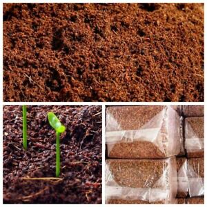 COCO COIR |COCO PEAT |100% NATURAL ORGANIC COMPOST|HYDROPONIC GROWING MEDIA|28g