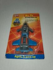1986 Wendys Go Bots Sky Fly New On Card Tonka
