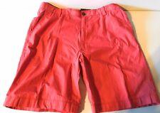 Nautica Clipper 100% Cotton Men's 36W Red Shorts