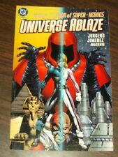 Titans Legion of Super-Heroes Universe Ablaze Book 3 DC Comics (Paperback)