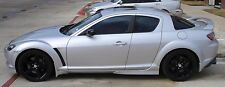 mazda rx8 side skirts X2 great styling at fitment new bodykits uk made