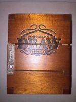 Southern Draw FIRETHORN ROBUSTO ROSADO  Tri-Fold Flip Lid Wood Cigar Box Humidor