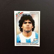 Panini World Cup México 86 Maradona Argentina Number 84  Whith Original Back New