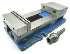 Kurt Anglock 6 Milling Machine Vise With Jaws Amp Handle D688