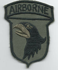 Vietnam era 101st Airborne Division patch, reproduction