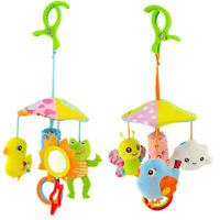 Baby Toys Cute Animal Rattles for Kid Crib Mobile Newborns Toy for Stroller F4R3