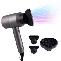 2000W Negative Ionic Electric Hair Blow Dryer Professional Salon Styler 3 Speeds