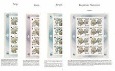 RUSSIA 1987 SC 5241-54a,Mi 5694-55697,MINI SHEETS,MNH, POLAR BEARS, WWF 650$